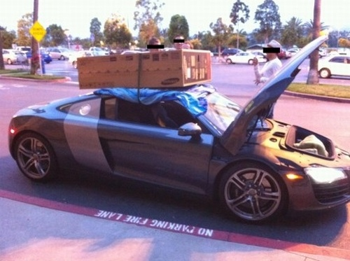 The Audi R8 Is Not A Truck