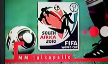 2010 World Cup Logo Depicts Man Shooting AK-47…Thanks MTV3