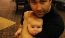 Alan Belcher Demonstrates Rear Naked Choke On A Baby (Video)