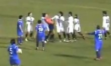 Player Chokes Ref During Chilean Soccer Game