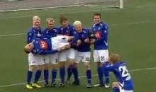 Iceland Soccer Celebration FTW (GIF)