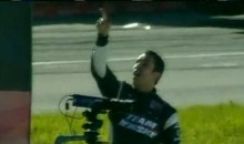 Helio Castroneves' Epic Post-Race Blow-Up In Edmonton (Video)