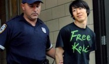 Kobayashi Crashes Nathan's Hot Dog Eating Contest, Gets Arrested (Video)