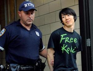 kobayashi arrested