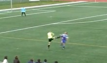 Amateur Soccer Provides Yet Another Kung Fu Kick To The Chest