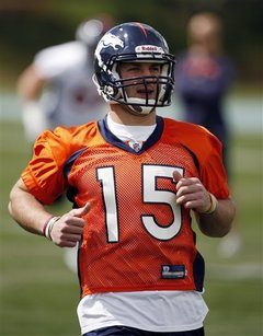 tim tebow broncos jersey