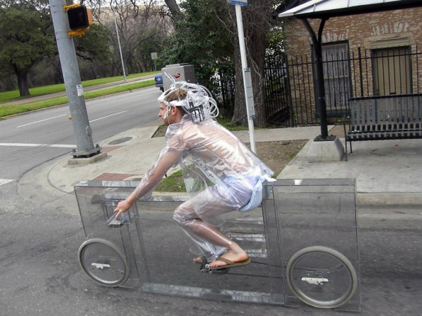 transparent bike