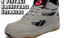 9 Vintage Basketball Sneakers