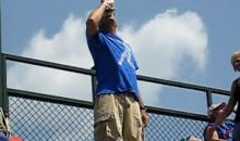 Cubs Fan Catches Ball In Beer Glass, then Chugs (Video)