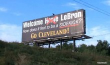 LeBron James Billboard Diss (PIC)