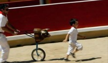 Picture Of The Day: Matador Training At An Early Age