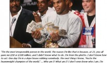 Mike Tyson's Brutal Honesty (PIC)