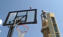 The World's Farthest Basketball Shot (Video)