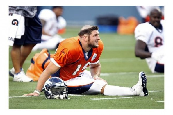 Tim Tebows Rookie Hazing Haircut Pictures Total Pro Sports