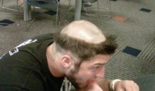 Tim Tebow's Rookie Hazing Haircut (Pics)