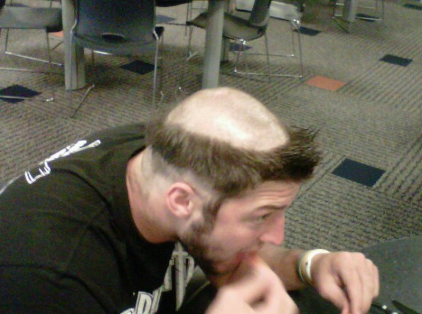 Tim Tebows Rookie Hazing Haircut