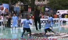 Dwyane Wade Shows No Mercy Against The Kids (Video)