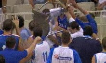 Greece And Serbia Engage In A Basket-Brawl