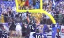 Joe Reitz Touchdown Celebration FAIL! (Video)
