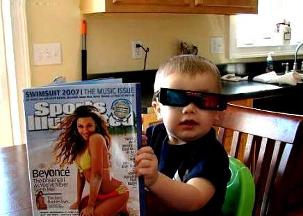 kid reads si swimsuit edition