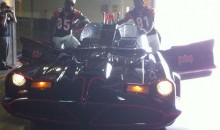 Ochocinco and Owens Get On Board The Batmobile (Pics)