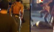 UFC Fighter Roger Huerta Kicks Woman-Beater's Ass In Street Fight (Video)