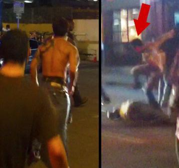 roger huerta street fight