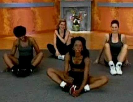 yoga girl farts