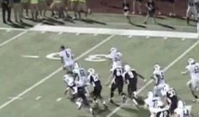 Great Play Gets Called Back After Player Loses Helmet (Video)