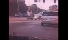 Iowa Lineman Josh Koeppel Trucked By A Truck While Riding Moped (Video)