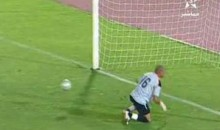 The Strangest Penalty Kick You Will Ever See (Video)