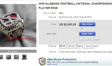 2009 Alabama National Championship Ring Now Selling On eBay