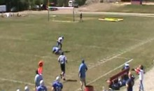 Wide Receiver Makes Incredible Behind-The-Back Catch (Video)