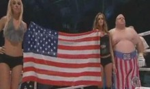 Butchered Anthem, Butterbean In MMA…It's Fight Night In Poland (Video)