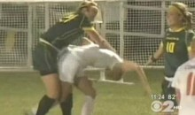 NCAA Soccer Cat Fight: 2010 Edition (Video)