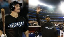 Jays' Players Sport Mustaches In Cito Gaston's Farewell Game