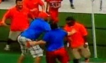 Coaches Brawl During PeeWee Football Game In Texas (Video)