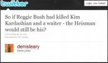 Denis Leary's Thoughts On The Reggie Bush Heisman Ruling