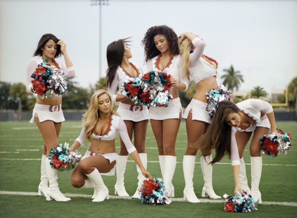 dolphins cheerleaders