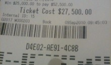 Picture Of The Day: This Bet Cost Him Some Cash