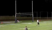 Tackle Of The Weekend Goes To…This High School Goal Post (Video)