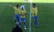 This Lady Gaga Imitation Is The Worst Soccer Celebration EVER!