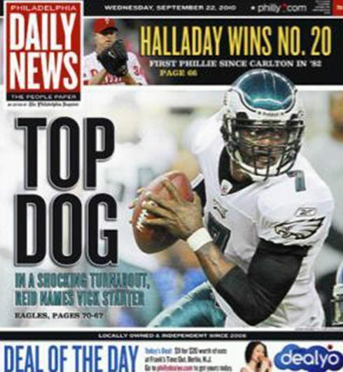 michael vick top dog