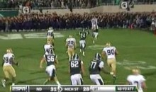 MSU Coach Mark Dantonio Has The Biggest Gonads In The NCAA (Video)