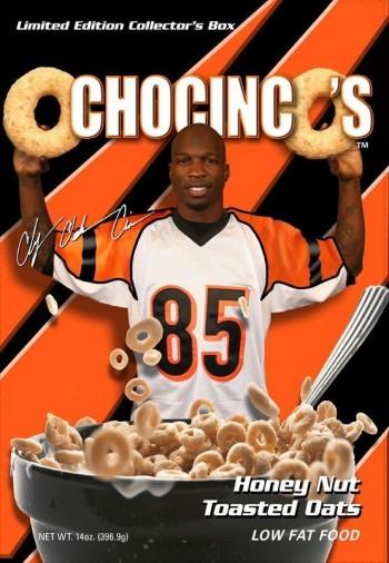 ochocinco's cereal