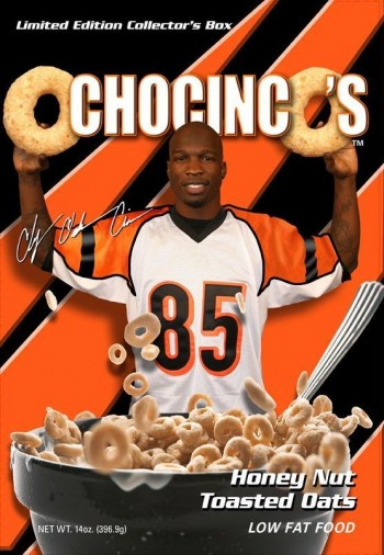 ochocinco's cereal