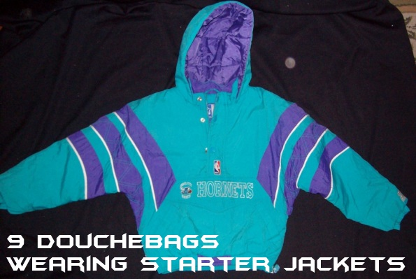 new arrival 8bac8 2e244 9 Douchebags Wearing Starter Jackets | Total Pro Sports