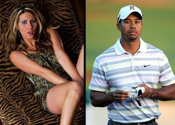 tiger woods and devon james