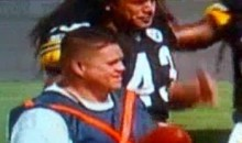Proof That Troy Polamalu Is A Ball Magnet (Video)