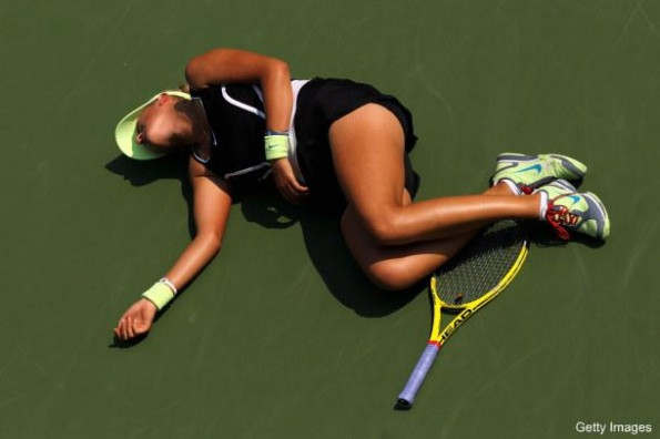 victoria azarenka collapses on court